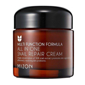 Mizon, Krem ze śluzem ślimaka, All In One Snail Repair Cream, 75 ml