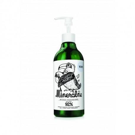 Naturalne mydło kuchenne w płynie do rąk - Mineralne, 500ml, Yope