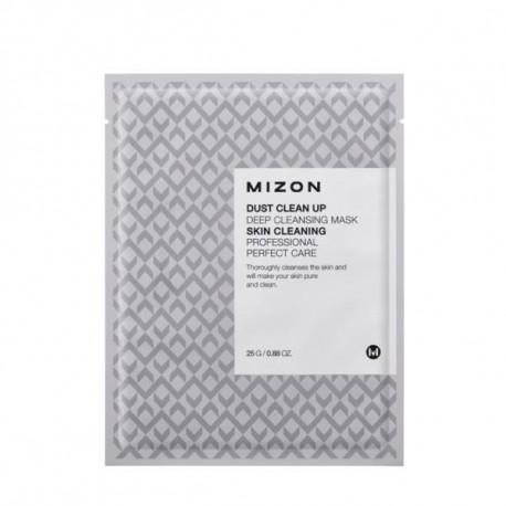 Dust Clean Up Deep Cleansing Mask - Głęboko oczyszczająca maska na płacie bawełny, Mizon