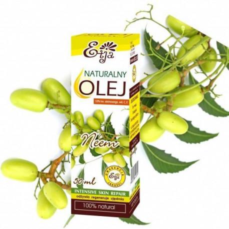 Naturalny olej neem z miodli indyjskiej, 50ml, Etja