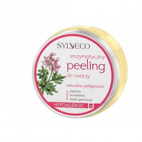 Peeling enzymatyczny dla cery wrażliwej i naczynkowej, 75ml, Sylveco