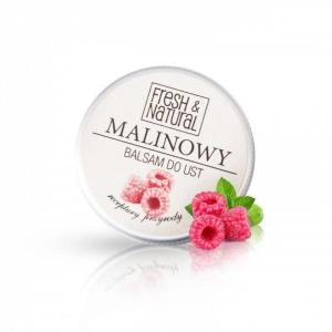 Fresh & Natural Malinowy balsam do ust 15 ml