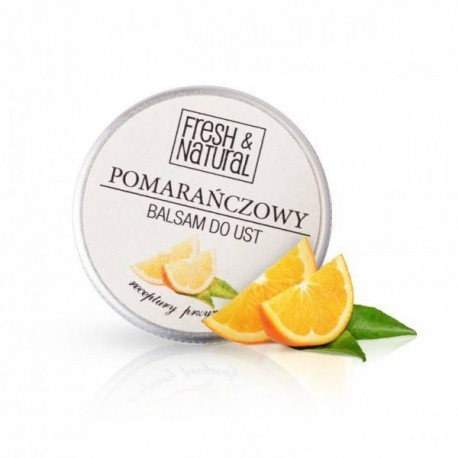 Fresh & Natural, POMARAŃCZOWY balsam do ust, 15ml