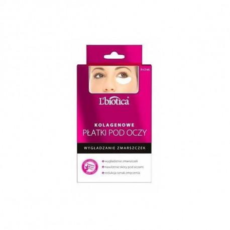 Kolagenowe płatki pod oczy - Przeciwzmarszczkowe, L'biotica