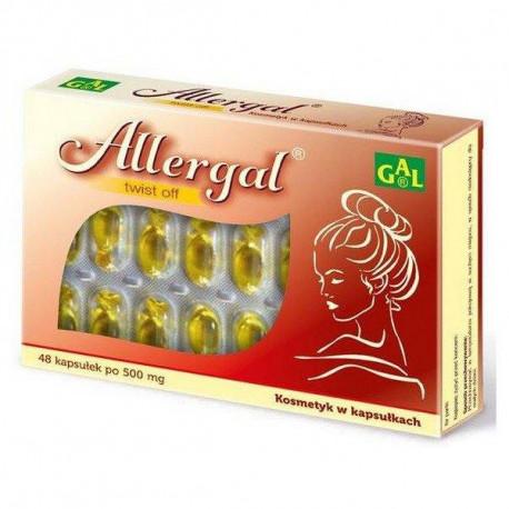Allergal 500 mg 48 kaps