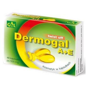 Dermogal A+E 500 mg