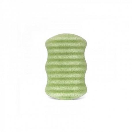Gąbka konjac z aloesem dla skóry suchej i wrażliwej - Aloe Vera L