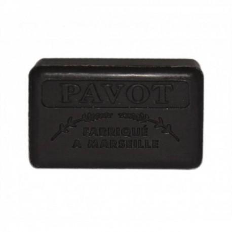 Mydło marsylskie z masłem shea - Opium / Pavot, 125g, Foufour