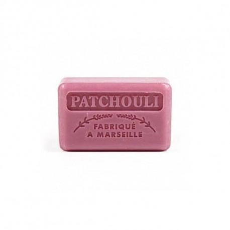 Mydło marsylskie z masłem shea - Paczula / Patchouli, 125g, Foufour