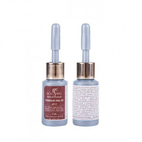 Peeling kwasem migdałowym - Mandelic Peel 40, 7ml, Biocosmetics
