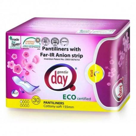 Gentle Day Wkładki higieniczne z paskiem anionowym 30 szt