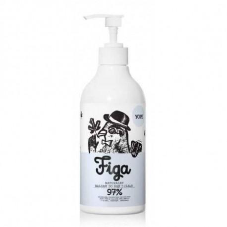 Naturalny balsam do rąk i ciała - Figa, 300ml, Yope