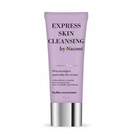 Oczyszczająca maseczka do twarzy - Express skin cleansing, 85ml, Nacomi