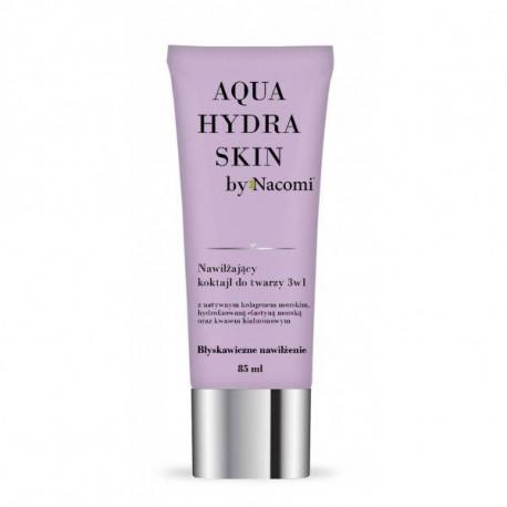Nawilżający koktajl do twarzy 3w1 - Aqua hydra skin, 85ml, Nacomi