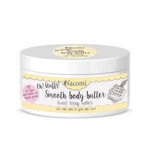 Nacomi Smooth Body Butter masło do ciała Miodowe Gofry 100g