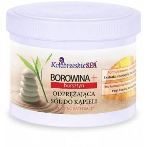 Borowina + Odprężająca sól do kąpieli z bursztynem, 600g, Kołobrzeskie Spa