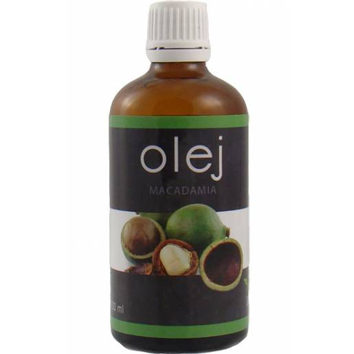 Olej MACADAMIA zimnotłoczony 50 ml