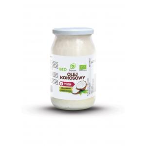 Olej Kokosowy NIERAFINOWANY BIO 900 ml, Intenson