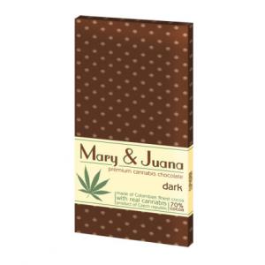 Czekolada gorzka Mary & Juana z nasionami konopii