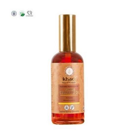 Khadi Antycellulitowy ajurwedyjski olejek do ciała 100 ml