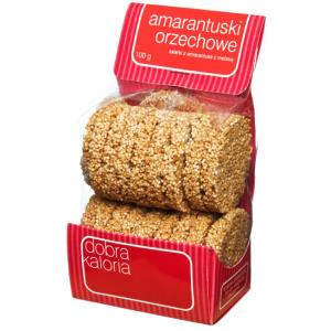 Amarantuski orzechowe 100 g - Dobra Kaloria