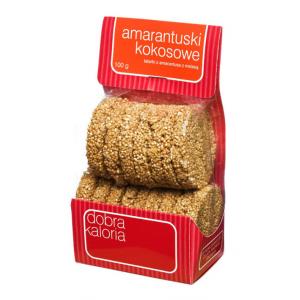 Amarantuski kokosowe 100 g - Dobra Kaloria
