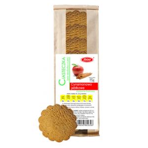 Ciasteczka cynamonowo - jabłkowe 115 g