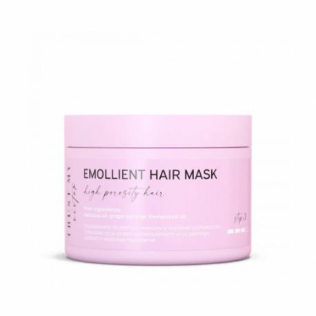 Emolientowa maska do włosów wysokoporowatych, 150 g, Trust My Sister