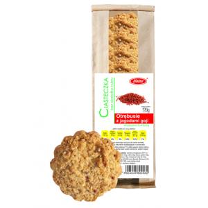 Ciasteczka Otrębusie z Jagodami Goji 120 g