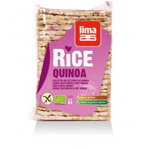 Wafle (chlebki) ryżowe z QUINOA 130 g