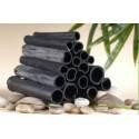 Black Clean - Czarne Mydło -Scrub z aktywnym węglem z bambusa 300 ml