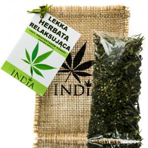 Konopna Lekka Herbatka Relaksująca INDIA 15 g