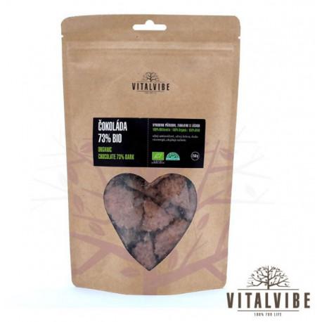Czekolada organiczna 73% masy kakaowej 250g