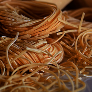 Безглютеновые макароны из сои 400 g - нитки