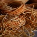 Bezglutenowy makaron sojowy 400 g - nitki
