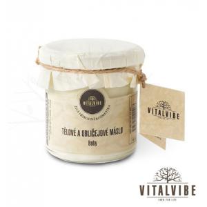 Organiczne masło do ciała i do twarzy dla niemowląt 125 ml