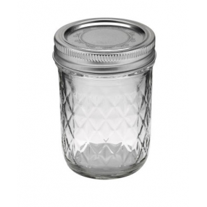 Słoik Ball Mason Jar Quilted Crystal Regular Mouth 8 oz (237 ml)
