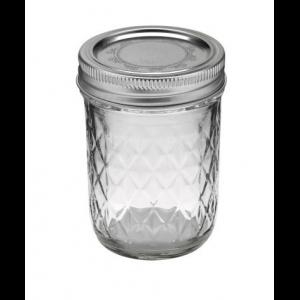 Słoik Ball Mason Jar Quilted Crystal Regular Mouth 8 oz (237 ml)