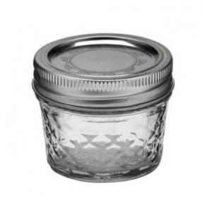 Słoik Ball Mason Jar Quilted Crystal Regular Mouth 4 oz (118 ml)