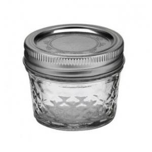 Słoik Ball Mason Jar Quilted Crystal Regular Mouth 4 oz (118 ml)