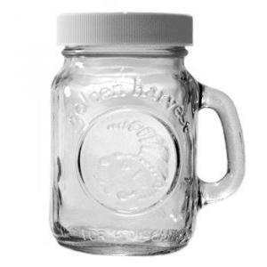 Słoik z rączką solniczka/pieprzniczka 4 oz (118 ml)