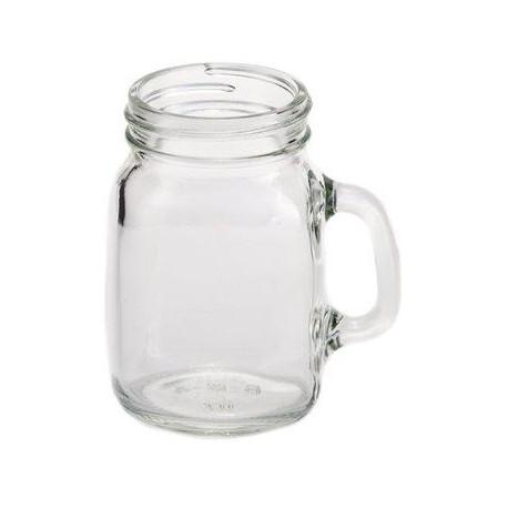 Mini słoik z uchem do napojów 4 oz (118 ml)
