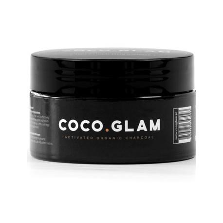 COCO GLAM 100% naturalny czarny proszek do wybielania zębów