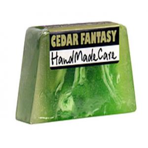 Glicerynowe mydło - Cedar Fantasy - Handmade 130 g