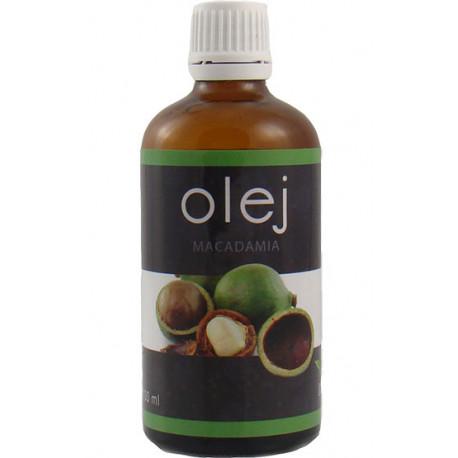 Olej MACADAMIA zimnotłoczony 100 ml