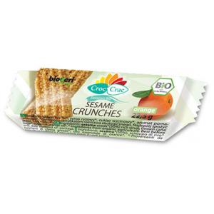 BIO Sezamki POMARAŃCZOWE 22,5 g - CROC-CRAC BIOVERI