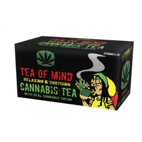 Tea of Mind - mieszanka herbaty konopnej i ziół w saszetkach 30 g