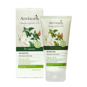 APTEKARZ szampon przeciwłupieżowy 150 ml