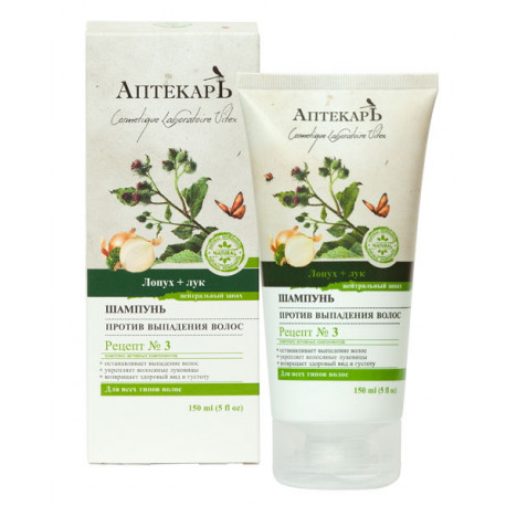 APTEKARZ szampon przeciw wypadaniu włosów