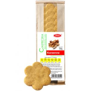Ciasteczka korzenne bez cukru 200g